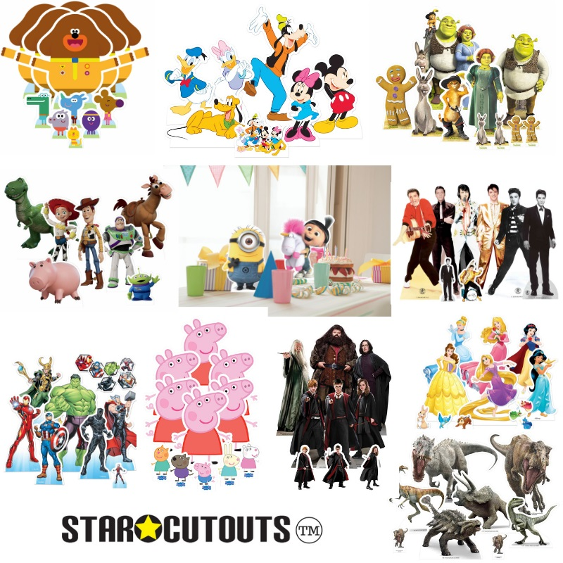 Star Cutouts Table Toppers Toy Story