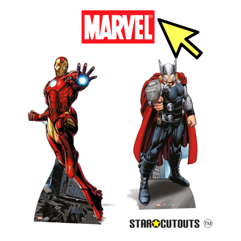 Star Cutouts Marvel