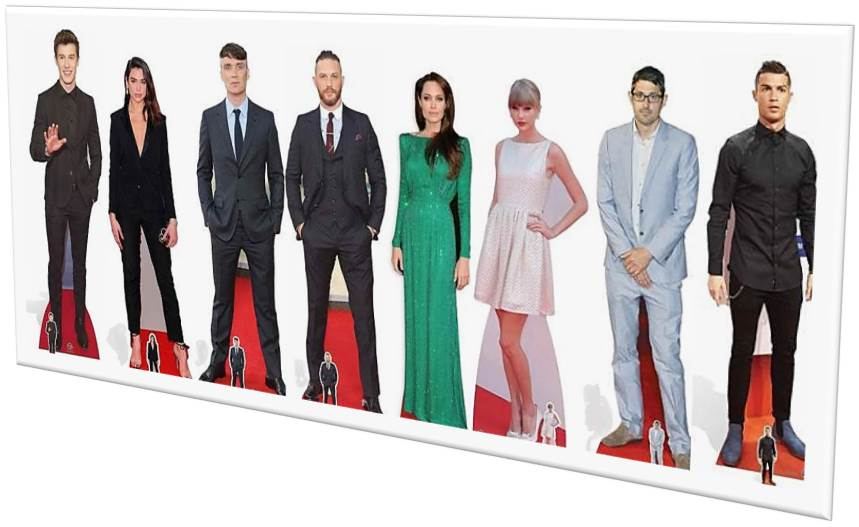 Celebrity Cardboard Cutouts - Sitcoms Online Message ...